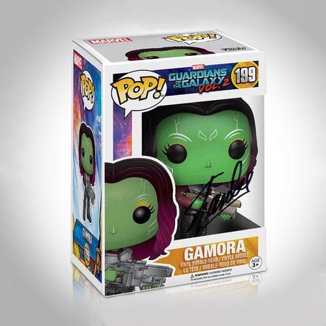 Gamora Funko Pop // Stan Lee Signed