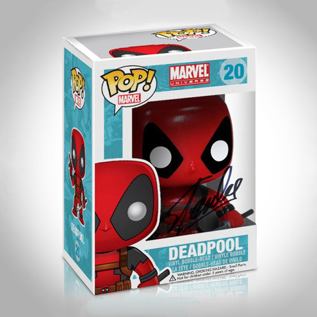 Deadpool Funko Pop // Stan Lee Signed