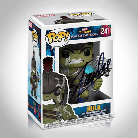Hulk Gladiator Funko Pop // Stan Lee Signed