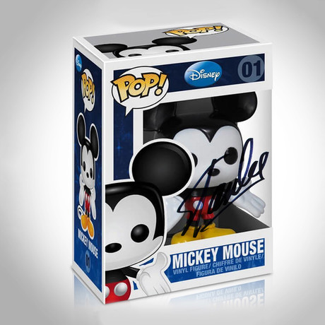 Mickey Mouse Disney Funko Pop // Stan Lee Signed