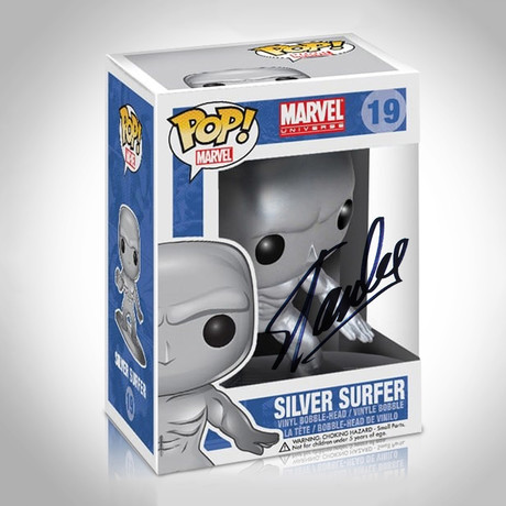 Silver Surfer Funko Pop // Stan Lee Signed