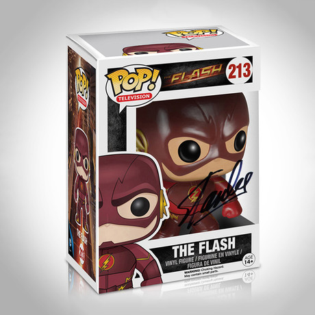 Flash Funko Pop // Stan Lee Signed