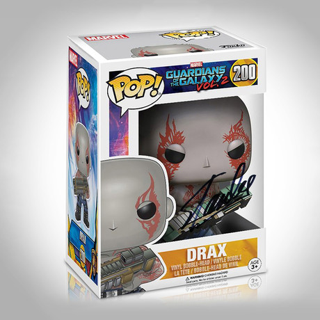 Drax Funko Pop // Stan Lee Signed