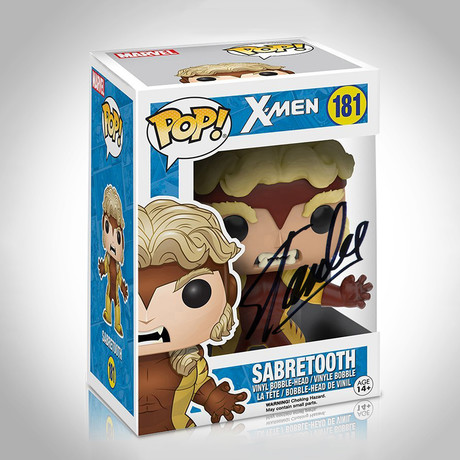 Sabertooth Funko Pop // Stan Lee Signed