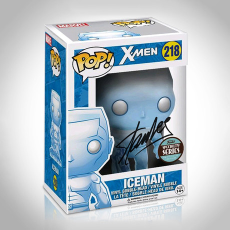 Iceman Funko Pop // Stan Lee Signed