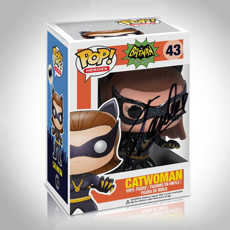 Catwoman 1966 Funko Pop // Stan Lee Signed