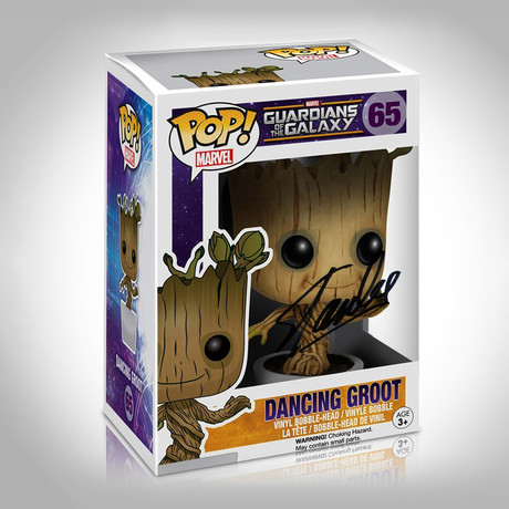 Dancing Groot Guardians Of The Galaxy Funko Pop // Stan Lee Signed