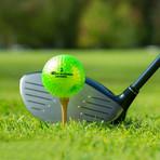 Metallic Distance Golf Balls // 12 Ball Pack (Neon Green)