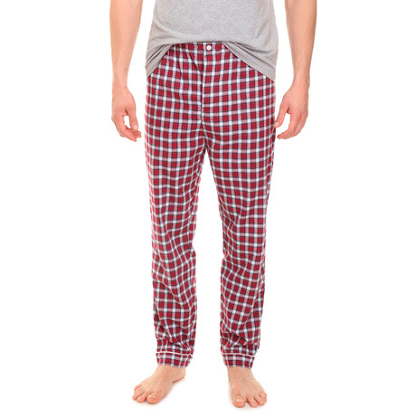 Pantaloni // Red White