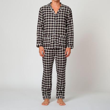 Pajama // Black Grey White Big