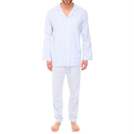 Pajama // Light Blue Stripes