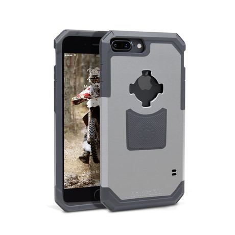 iPhone Rugged Case // White // iPhone 7/8 +