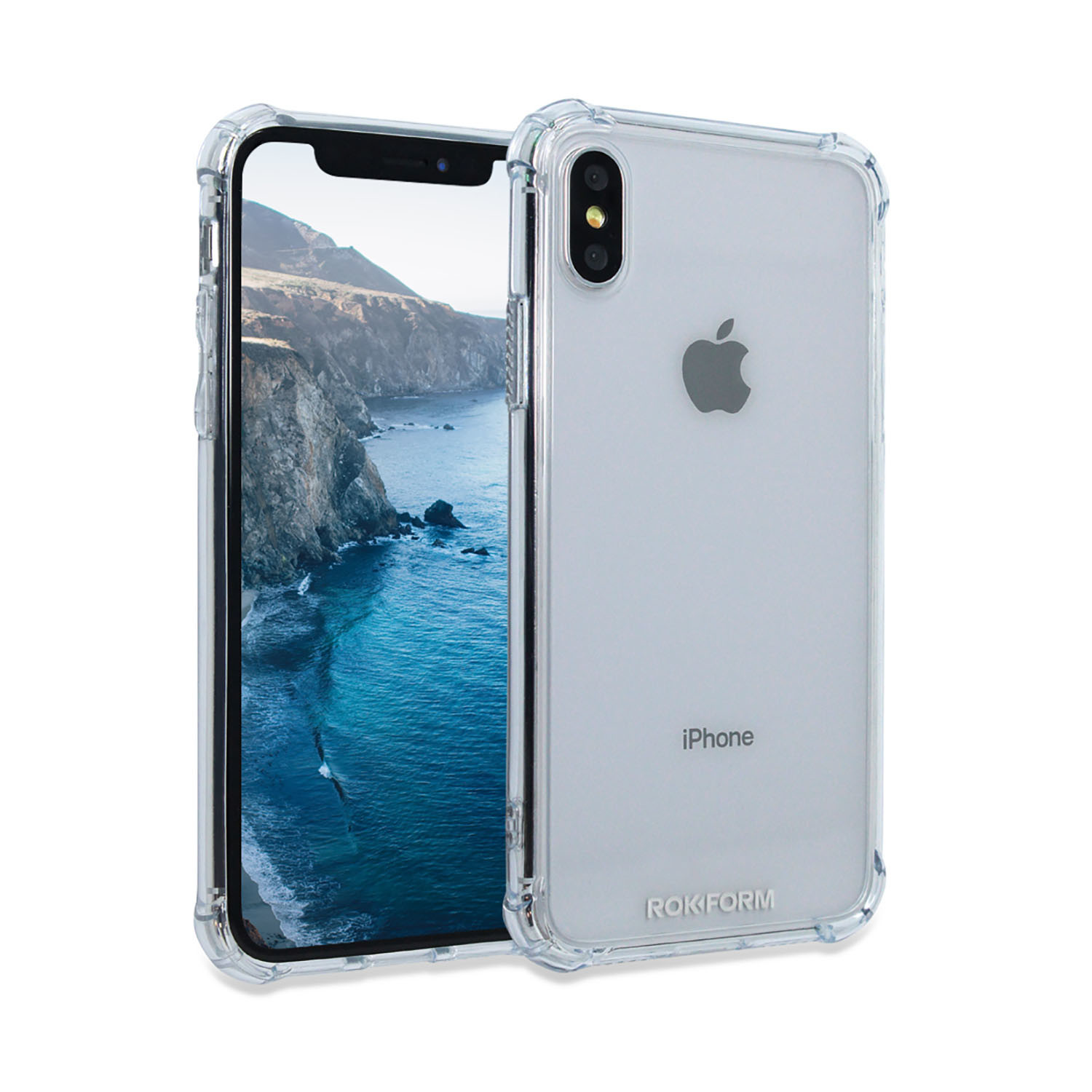info for 85b9a 0a785 iPhone X Speculo Premium Tempered Glass Case - Rok Form - Touch of ...