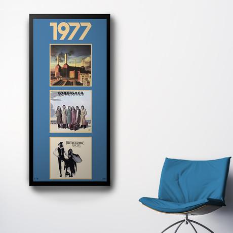 1977 Commemorative Music Framed Piece // II