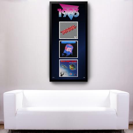 1983 Commemorative Music Framed Piece // I