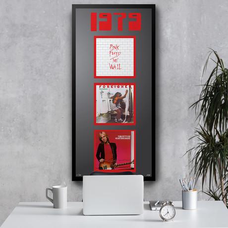 1979 Commemorative Music Framed Piece // III