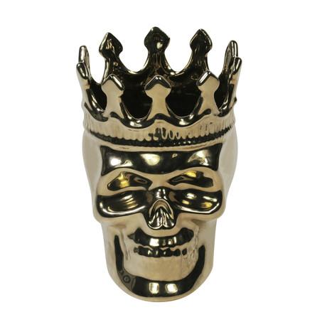 Monte-Cristo Collection (Wood Charnel Bonaparte Skull // Gold)