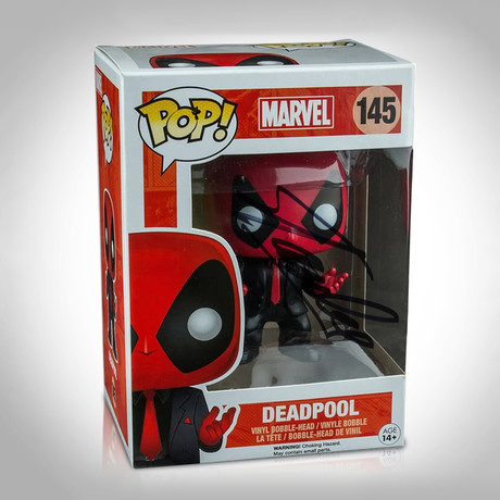 Deadpool Dressed To Kill Funko Pop // Stan Lee Signed // PX Exclusive