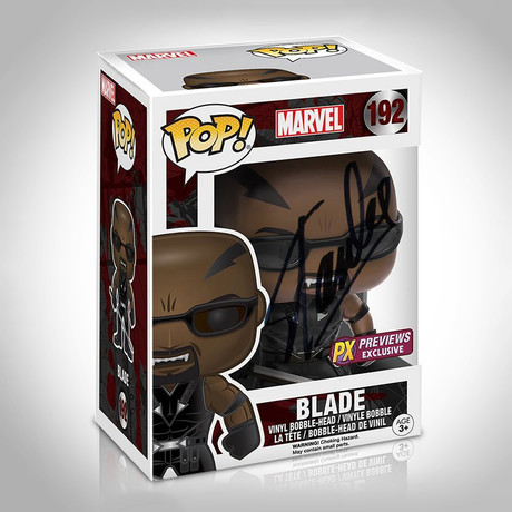 Blade Funko Pop // Stan Lee Signed // PX Exclusive