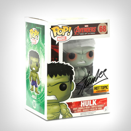 Hulk Funko Pop // Stan Lee Signed