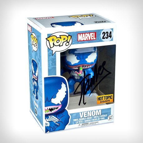 Venom Blue Funko Pop // Stan Lee Signed