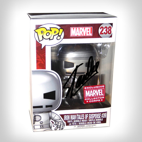 Iron Man Tales Of Suspense Funko Pop // Stan Lee Signed // Collector Corps Exclusive