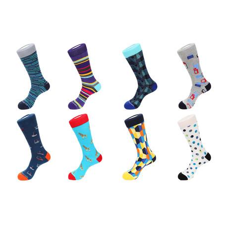 Crew Socks // Garlington // Pack Of 8