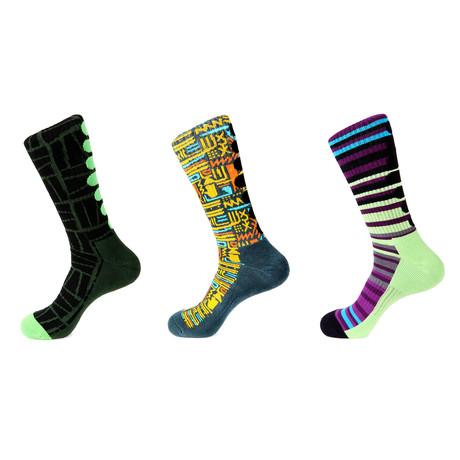 Athletic Socks // Harlan // Pack Of 3