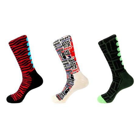 Athletic Socks // Irving // Pack Of 3