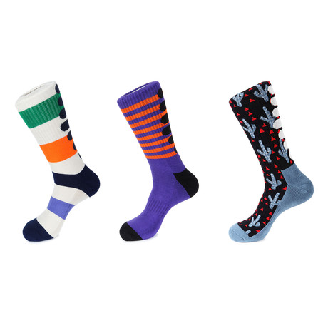Athletic Socks // Inverness // Pack Of 3
