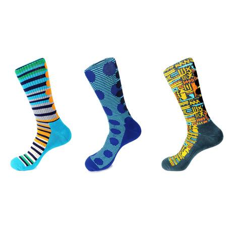 Athletic Socks // Jennings // Pack Of 3