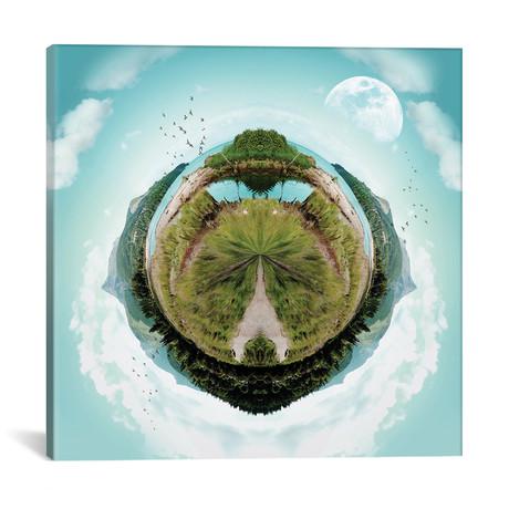 "Mountain Range Mini World (18""W x 18""H x 0.75""D)"