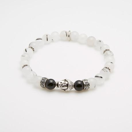 Water + Life Bracelet // Silver