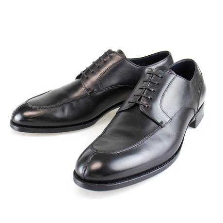 Split Toe Goodyear Welt Leather Derby // Black (US: 7)