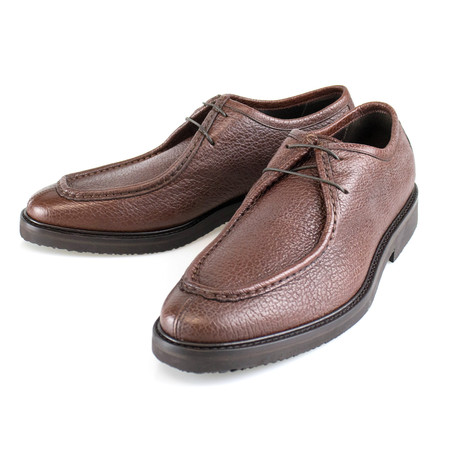 Leather Oxford // Brown (US: 7)