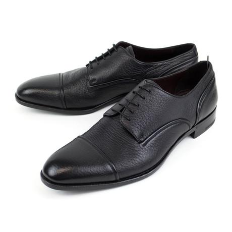 Avenue Flex Leather Derby // Black (US: 7)