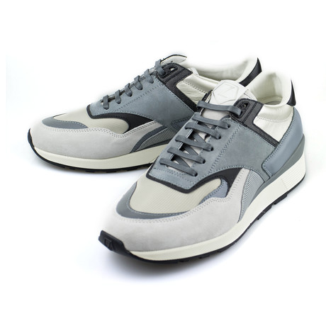 Suede Leather Sneakers // Gray (US: 7)