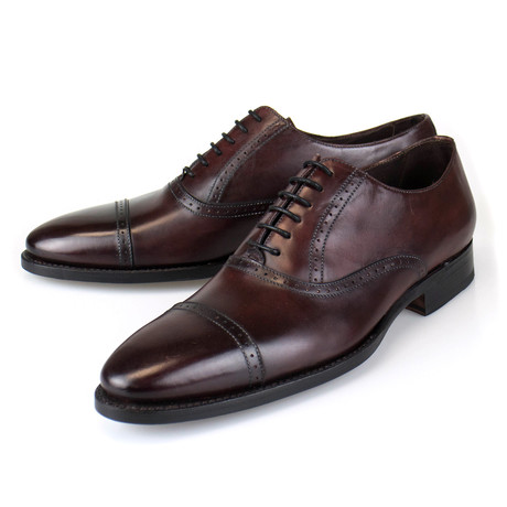 Goodyear Brown Leather Oxford // Brown (US: 7)