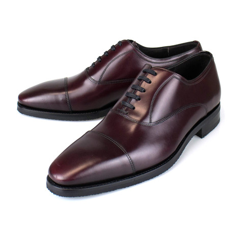 Leather Oxford // Burgundy (US: 7)