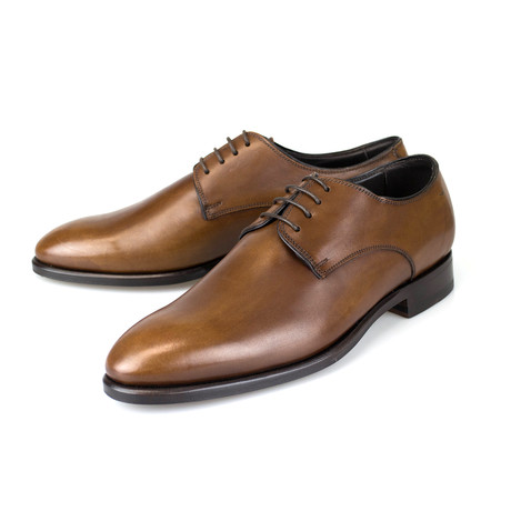 Leather Derby // Cognac Brown (US: 7)
