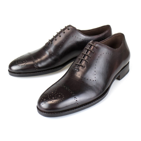 Goodyear Wholecut Leather Oxford // Brown (US: 7)