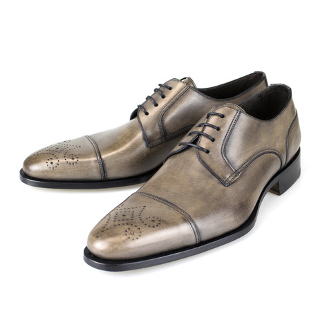 Leather Brogue Derby // Brown (US: 7)