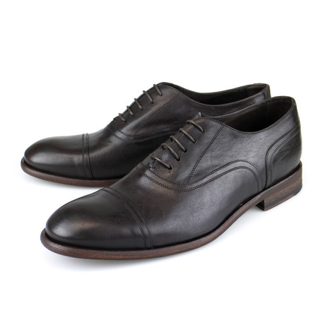 Leather Oxford // Dark Brown (US: 7)