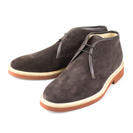 Suede Chukka Boots // Brown (US: 7)