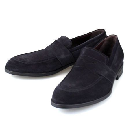Avenue Flex Suede Loafers // Blue (US: 7)