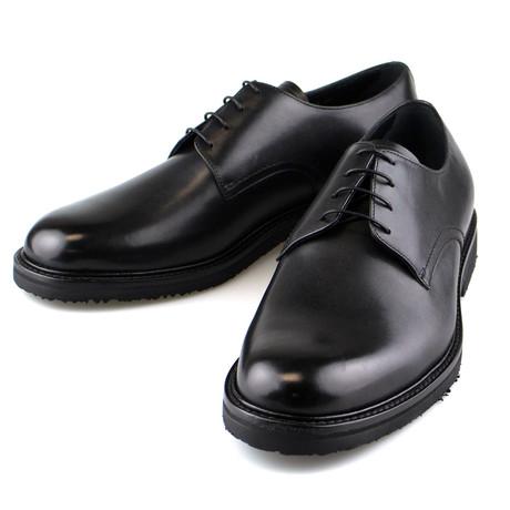 Leather Derby // Black (US: 7)