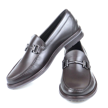 Leather Bit Loafers // Brown (US: 7)
