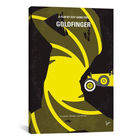 """Goldfinger (18""""W x 26""""H x 0.75""""D)"""