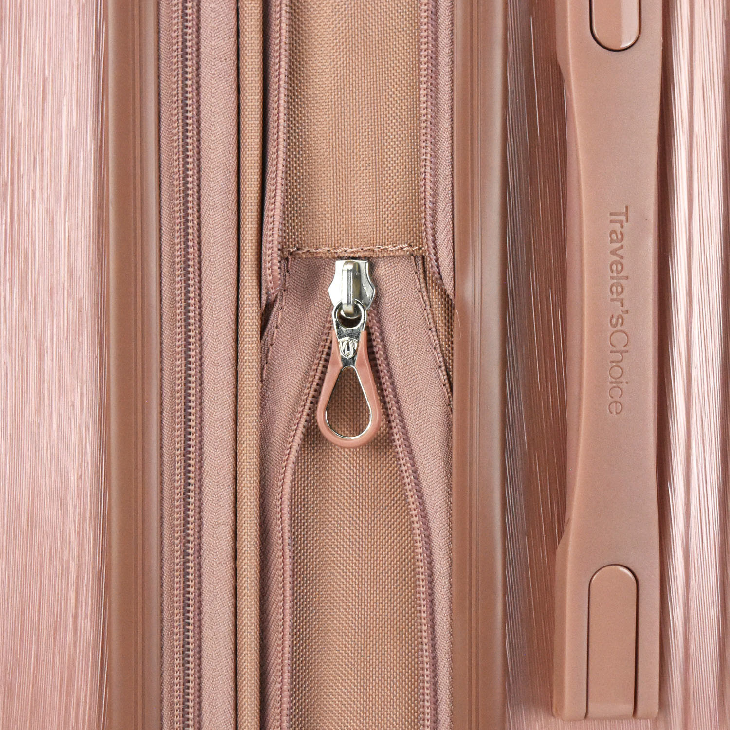 41567a52de14 Bell Weather Expandable Spinner // Set of 3 (Rose Gold) - Traveler's ...