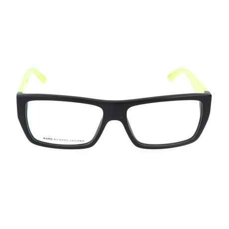 Mosskavitz Frame // Black + Lime